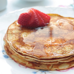 Cream Cheese Pancakes - Low Carb and Keto