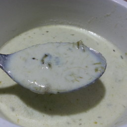 Cream Of Asparagus & Leek Soup