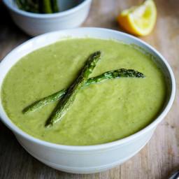 Cream of Asparagus Soup (dairy-free)