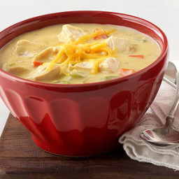 Cream of Chicken and Cheese Soup