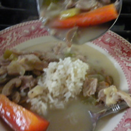 Cream of Chicken Soup with Wild Rice
