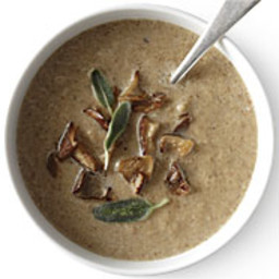 Cream of Mushroom Soup with Ale and Cumin