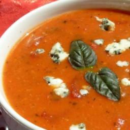 Cream of Tomato Gorgonzola Soup Recipe