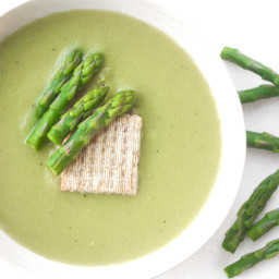 Creamless Cream of Asparagus Soup