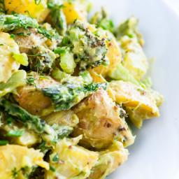 Creamy Avocado Potato Salad