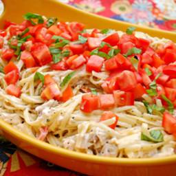 Creamy Basil Chicken Pasta