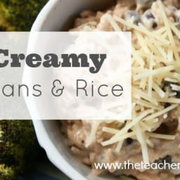 Creamy Beans and Rice