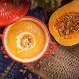 Creamy Butternut Squash & Pear Soup