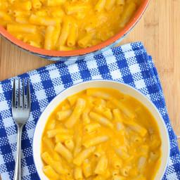 Creamy Butternut Squash Mac and Cheese