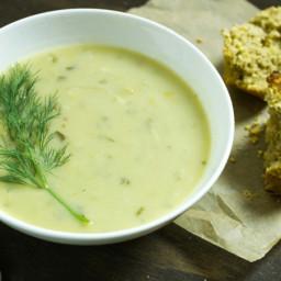Creamy Celery Root Chowder