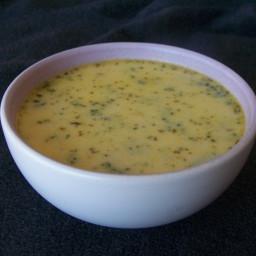 Creamy Cheddar Broccoli Soup