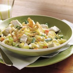 Creamy Chicken and Vegetables with Noodles