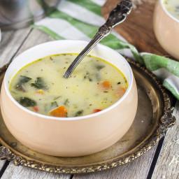 Creamy Chicken Florentine Soup