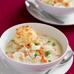 Creamy Chicken Pot Pie Soup