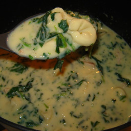 Creamy Chicken-Spinach Soup, 8 PointsPlus Points