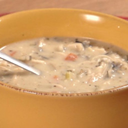 Creamy Chicken Wild Rice Soup – Crock pot
