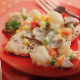 Creamy Chicken with Veggies