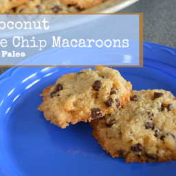Creamy Coconut Chocolate Chip Macaroons and a review of Real Life Paleo