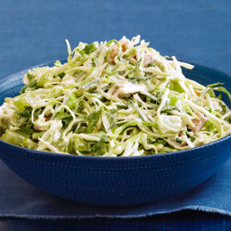 Creamy Coleslaw With Grapes and Walnuts