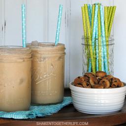 Creamy Cookie Dough Iced Coffee