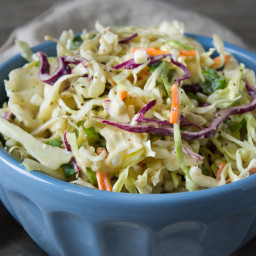 Creamy Cottage Cheese Coleslaw