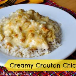 Creamy Crouton Chicken