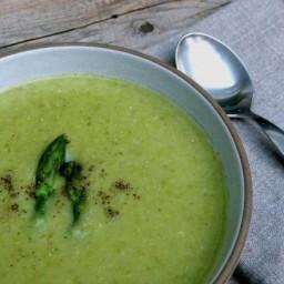 Creamy, Dairy-free Asparagus Soup