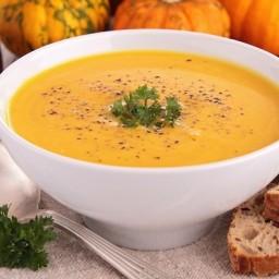 Creamy Golden Potato-Squash Soup