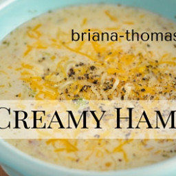 Creamy Ham Soup
