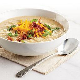 Creamy, Light Potato Soup