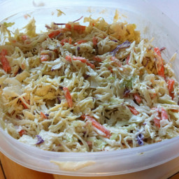 Creamy Lower-Fat Coleslaw