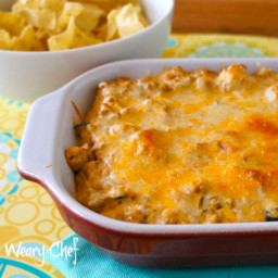 Creamy Mexican Dip with Taco Meat