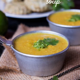 Creamy Mexican Pumpkin Soup