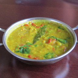 Creamy Moong Dal with Spinach