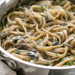 Creamy Mushroom Herb Pasta