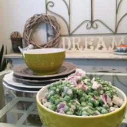 Creamy, Pea Salad