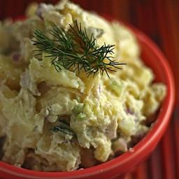Creamy Potato Salad, Hold the Mayo