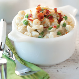 Creamy Shells and Peas