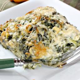 Creamy Spinach Gratin