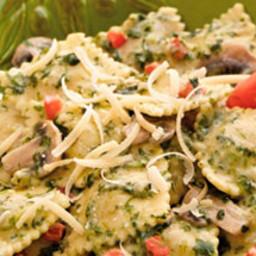 Creamy Spinach Ravioli