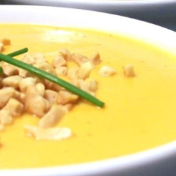 Creamy Sweet Potato With Ginger Soup Recipe