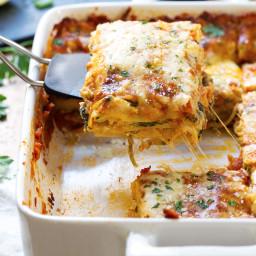 Creamy Tomato Lasagna Florentine