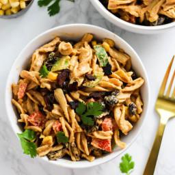 Creamy Vegan Mexican Pasta Salad