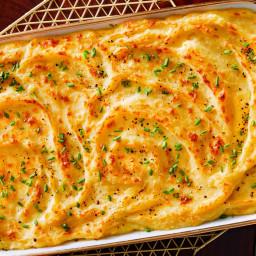 Creamy Whipped Potato Casserole