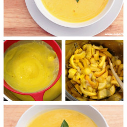 Creamy Yellow Squash Soup