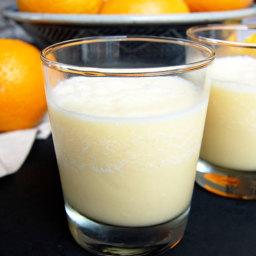 Creamy Homemade Orange Julius