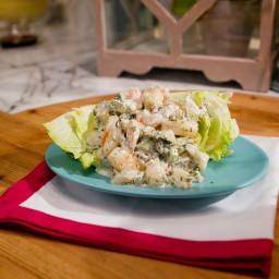 Creamy Shrimp and Dill Salad