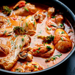 Creamy Tomato Chicken Drumsticks