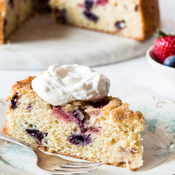 Crème Fraîche Pound Cake