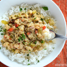 Creole White Beans with Chicken
